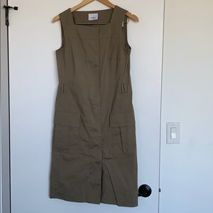 AKRIS PUNTO sleeveless midi dress medium/6